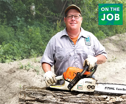 On the Job: Glen Baum, Anderson Lake State Fish & Wildlife Area