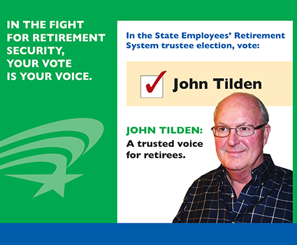 Retirees, protect your pension: SERS Annuitant Trustee Election