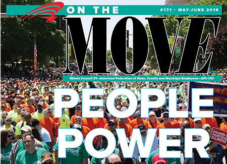 On the Move: PEOPLE POWER