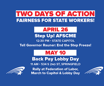 Two Days of Action: Fairness for State Workers