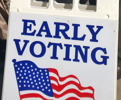 Early voting is now open – cast your ballot today!