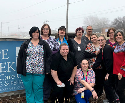 Rock Island County board sells Hope Creek Care Center