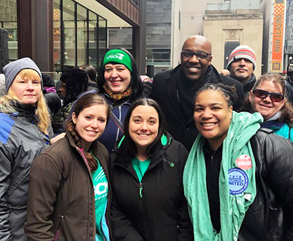 AFSCME-backed candidates win in Primary Election